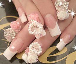 Весільні нігті