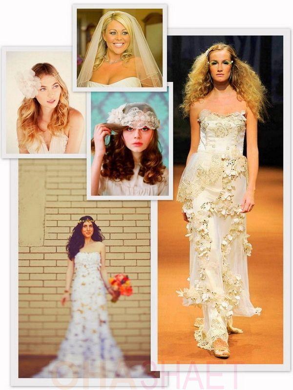 Весільні зачіски 2013 - 200 варіантів на будь-який смак