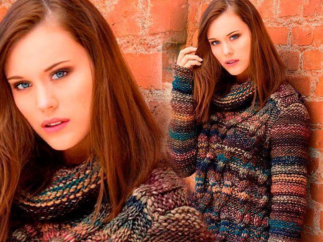 Зв`язати светр спицями для жінки своїми руками