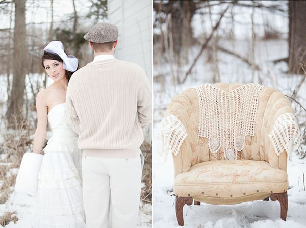 Весілля взимку - під білим покривалом ніжних почуттів. Фото з сайту sb-photo.ru
