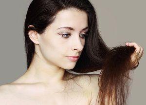 Причини сухого волосся