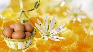 Маска для волосся з яйця і меду