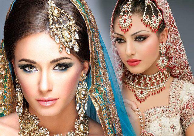 Східний макіяж покрокове фото