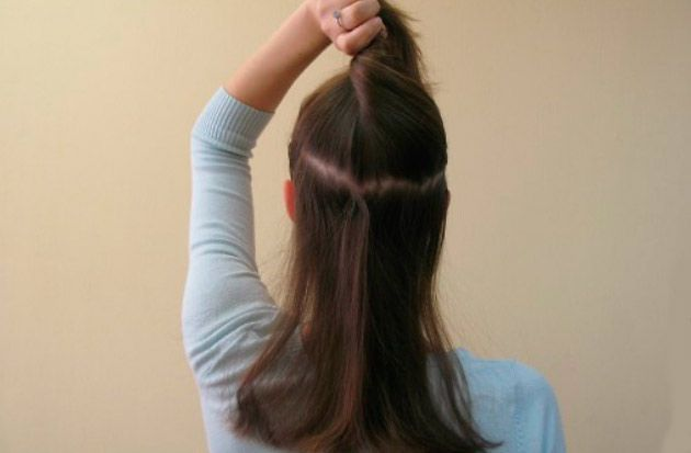 зачіска джгут з твистером